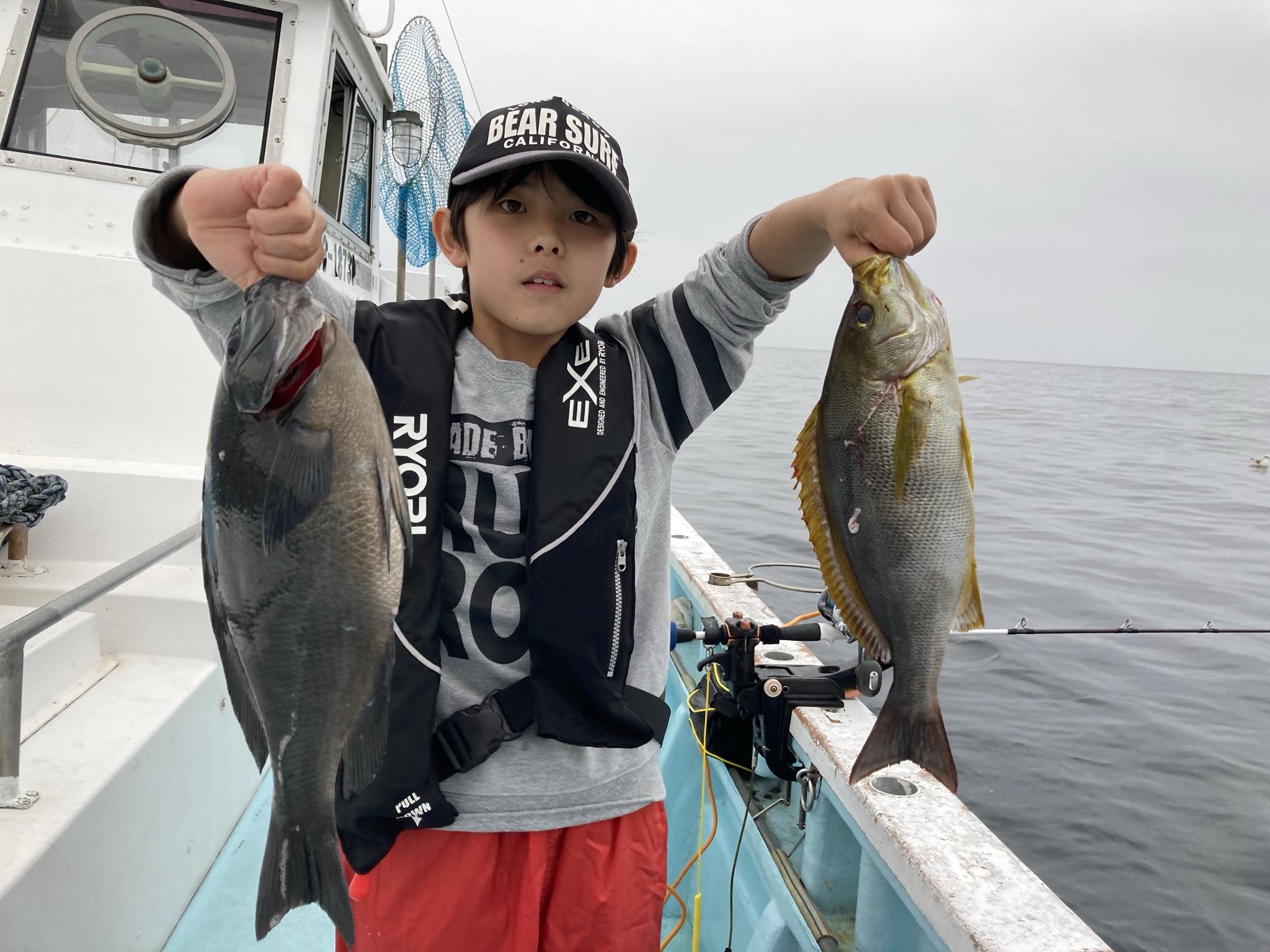 イサキとメジナ 初船釣り